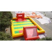 Wholesale inflatable football field from china suppliers