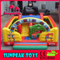 Wholesale PG-136 Superheros Inflatable Children Playground Outdoor Play Area from china suppliers