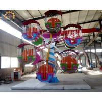 Wholesale 24 Seats Double Side Kids Ferris Wheel 12 Units Cabins Easy Maintenance from china suppliers