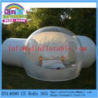 China QinDa Inflatable outdoor camping bubble tent for sales transparent tent on sale