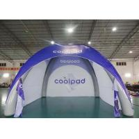 Wholesale Multi - Color Advertisement Inflatable Event Tent / Spider Dome Tent from china suppliers