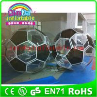 Quality Giant bubble jumbo water ball inflatable ball water ball water walking ball for water park for sale
