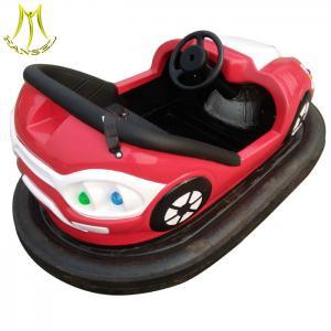 Hansel high quality fiberglass bumper car for amusement park ride