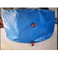 Wholesale Round Shape Collapsible PVC Coated Fish Pond Tank Material Tarpaulin Cover from china suppliers