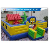 Wholesale Cartoon Inflatable Bouncy Castle Combo / Inflatable Trampoline For Kids from china suppliers