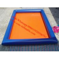 Wholesale rectangular plastic pool large plastic swimming pool from china suppliers