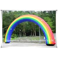 Wholesale High Quality Durable Wholesale Rainbow Inflatable Arch for Wholesale (CY-M2123) from china suppliers