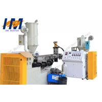 Solar Panel Connection Plastic Profile Extrusion Line , PC PMMA UPVC Profile Extrusion Machine