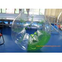 China Inflatable Body Ball With Lovely Appearance , Inflatable Soccer Bubble on sale