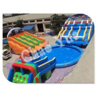 Wholesale Inflatable Giant Water Slide, PVC Inflatable Slide for Pool, Water Park Equipment Water Sl from china suppliers