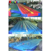 Wholesale Inflatable gym mat , gym air track ,DWF air track, gymnastics inflatable sport game from china suppliers