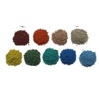 Wholesale UV Resistant Coloured Rubber Crumb / Sound Insulation EPDM Granules Flooring from china suppliers