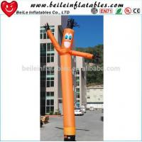 Wholesale Holiday celebrations Inflatable fresh orange sky dancer from china suppliers
