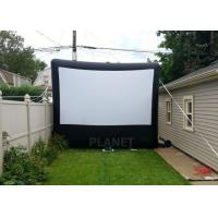 Quality Commercial Inflatable Movie Screen 210 D Reinforced Oxford Material for sale