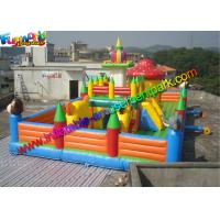 China Playground Inflatable Amusement Park Toys , Jump Houses Customized on sale