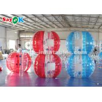 China 1.5m TPU Inflatable Sports Games Bubble Soccer Ball For Kids / Adults on sale