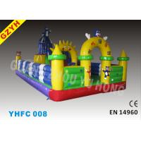 Wholesale Fire & Oil Resistant Warp-527N Weft-323.8N Child Inflatable Fun City YHFC 008 from china suppliers