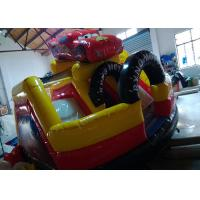 Wholesale Toddler Playground Inflatable Bouncer Combo Air Inflated Car Jumping Bouncer Slide from china suppliers