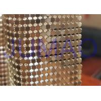Wholesale 3 Mm Dark Gold Metal Flake Fabric Shrink Proof Interior Decoration Table Cloth from china suppliers