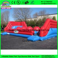 Wholesale New product funny games commercial adult giant inflatable wipeout sport games from china suppliers