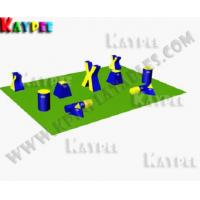 Wholesale Team Practice Package C,Inflatable paintball Bunker,paintball filed,arena KPB028 from china suppliers