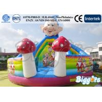 Wholesale Seven Dwarfs Inflatable Bouncer Commercial With Slide PVC Playground from china suppliers