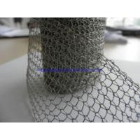 Wholesale Metallic Stainless Steel Woven Wire Mesh Crochet Weaving 0.018-2.03mm Wire Diameter from china suppliers