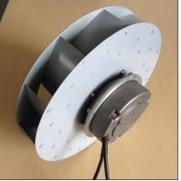 Electric Power EC Industrial Centrifugal Blower With External Rotor Motor