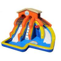 China Commercial inflatable water slide for rental  with 24months warranty on sale