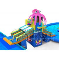 China Octopus Adventures Commercial Inflatable Water Slides For Kids And Adults on sale