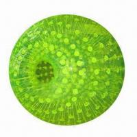 Wholesale Inflatable Zorb Ball, Made of 1.0mm TPU or PVC, Available in 3/2, 2.8/1.8 and 2.6/1.6m Sizes from china suppliers