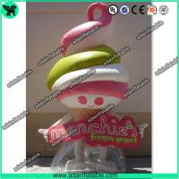 Wholesale Advertising Inflatable Food Replica Inflatable Icecream Model from china suppliers