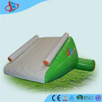 Wholesale White Large Inflatable Water Slides For Swimming Pool 0.9mm PVC from china suppliers