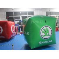 Wholesale Fire Retardant Inflatable Marker Buoy With Logo Printed , Inflatable Floating Tube from china suppliers