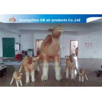 Wholesale Customized Cartoon Shape Inflatable Camel Animal Model For Event Party from china suppliers