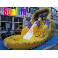 China inflatable water pool slide on sale