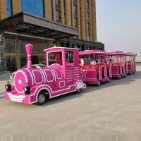 Wholesale Tourist Theme Park Train Ride Electric / Diesel Power With FRP Material from china suppliers