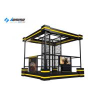 Quality Standing VR Shooting Simulator Platform 24 Inch LED Screen For Amusement Park for sale