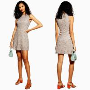 Quality 2019 Women Clothing Summer Fashion Multicoloured Ditsy Mesh Mini Dresses Women for sale