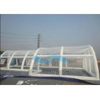 Wholesale Customized Clear Bubble Tent Night Inflatable Rain Cover / Pool Covers Tent from china suppliers