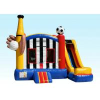 Wholesale Sports Backyard Fun Inflatable Bouncer Combo / Inflatable Bounce House With Slide from china suppliers