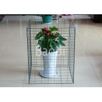 Quality Collpasible Green PVC Wire Compost Bin 690 X 890mm , Wire Mesh Screen Panels  for sale
