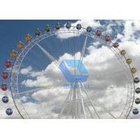 Wholesale Children Games Amusement Park Ferris Wheel 120/128 Pcs Loading Capacity For Sightseeing from china suppliers