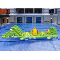 Wholesale Custom Alligator Inflatable Water Toys Aqua Game For Children In Swimming Pool from china suppliers