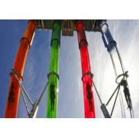 Buy cheap 6 Guests Per Time Colorful Custom Fiberglass Water Slides from wholesalers