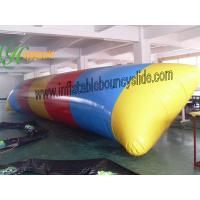 China Kids Inflatable Fun Water Game , Inflatable Water blob / Pillow For Outdoor Pool on sale