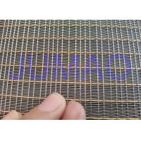 Wholesale Customized Size Laminated Screen Mesh Decorative Glass Metal Mesh Fabric from china suppliers