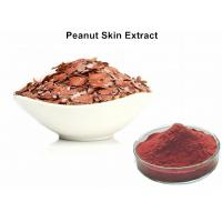 Wholesale Natural Red Pigment Peanut Skin Extract , Food Grade Peanut Skin Nutrition from china suppliers