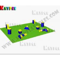 Wholesale Team Practice Package a,Inflatable paintball Bunker,paintball filed,arena KPB026 from china suppliers
