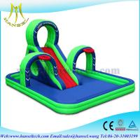 Wholesale Hansel swimming pool slides,commercial grade inflatable water slide,bouncer from china suppliers